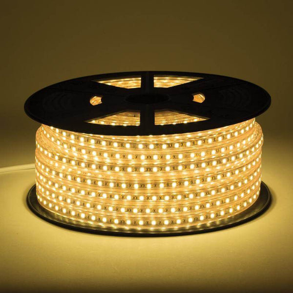 120V Single Color LED Light Strip - Sold In Sections