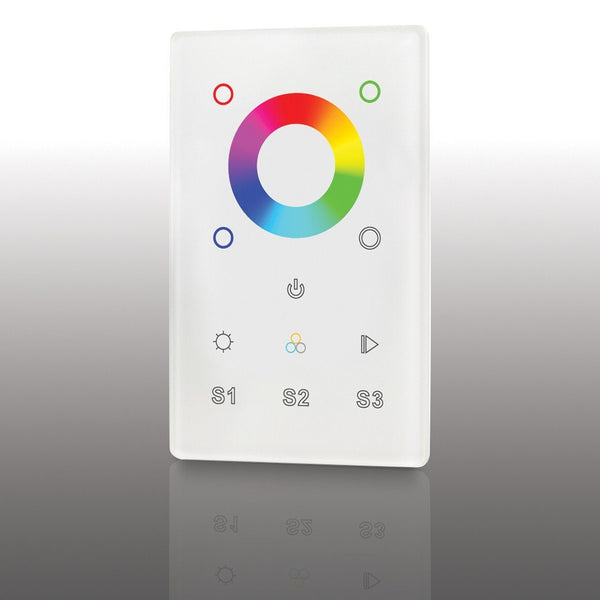 Lumilum RGB In Wall Mounted Controller 1 Zone 3 Scenes