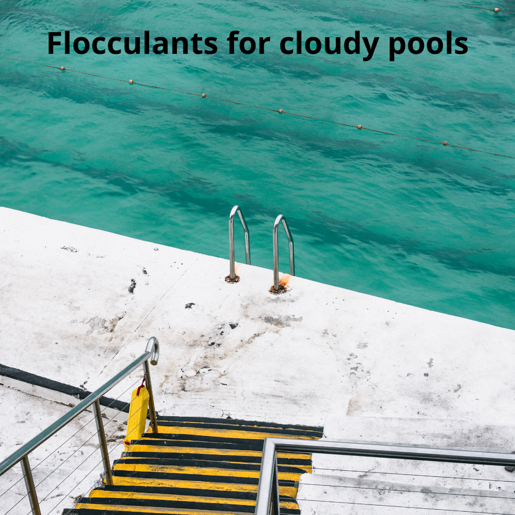 Flocculants , dust storms and how to clear your pool