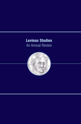 Levinas Studies: An Annual Review, Volume 4