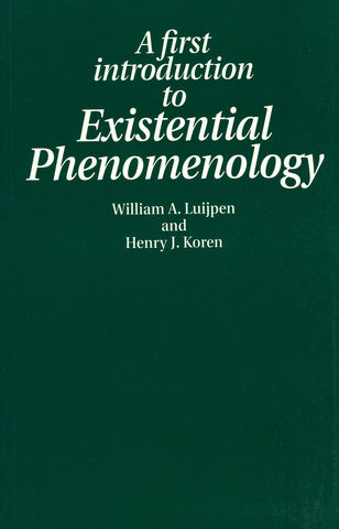 A First Introduction to Existential Phenomenology