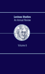 Levinas Studies: An Annual Review, Volume 8