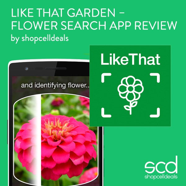 Like That Garden – Flower Search App Review