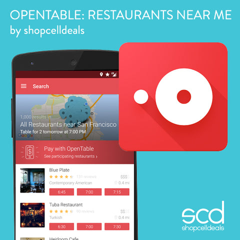 Open Table App Review Shopcelldeals - What is open table