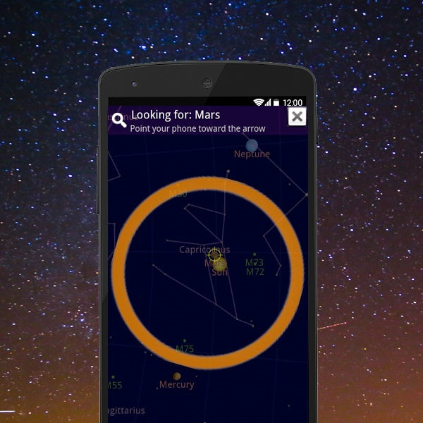 Google Sky Map Review for Android – shopcelldeals on google android, gmail android, skype android, chrome android, game android, evernote android,