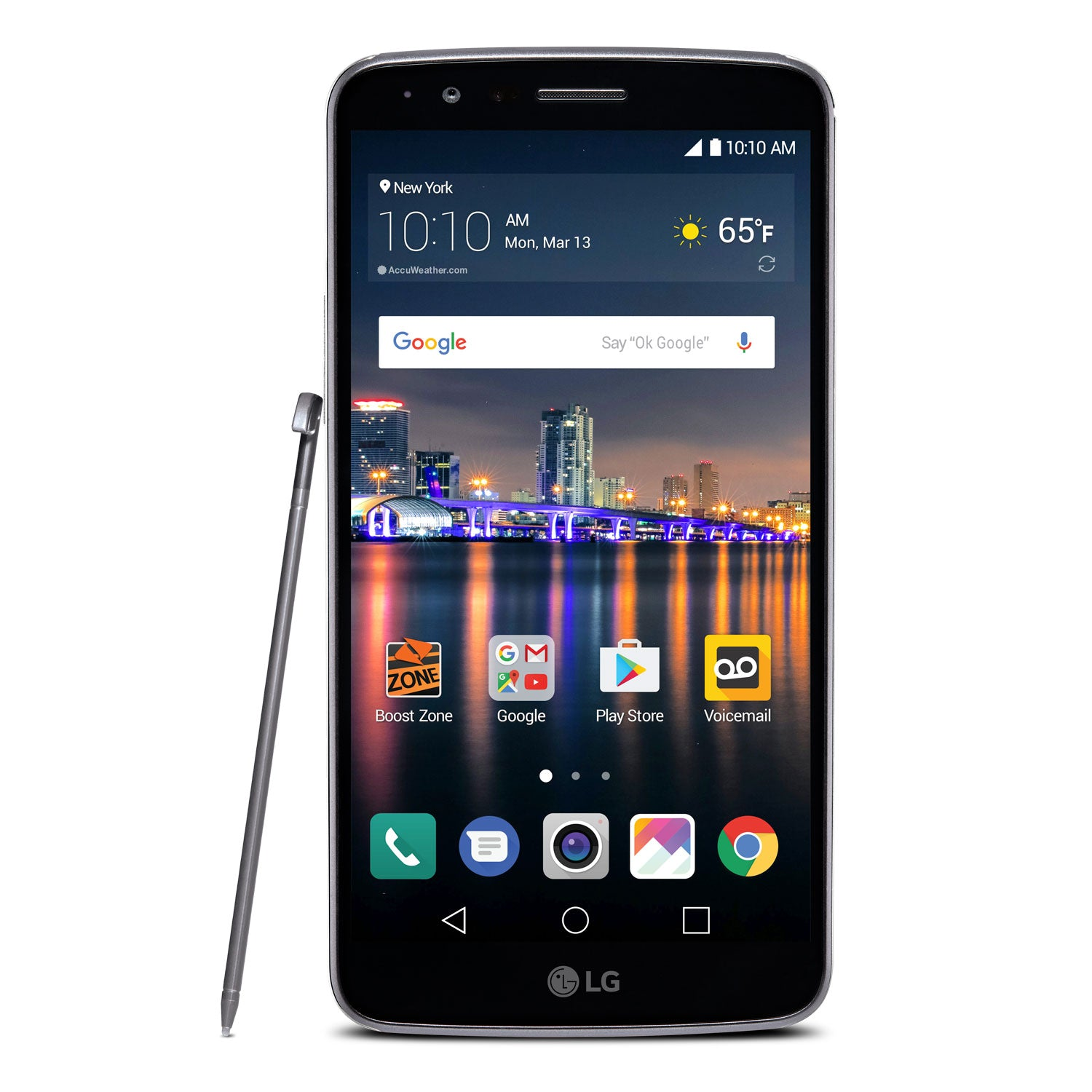 LG Stylo 3 LTE 57 Android Smartphone For Boost Mobile
