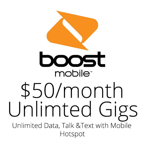 Boost Mobile $50 Month Auto Re-Boost Subscription