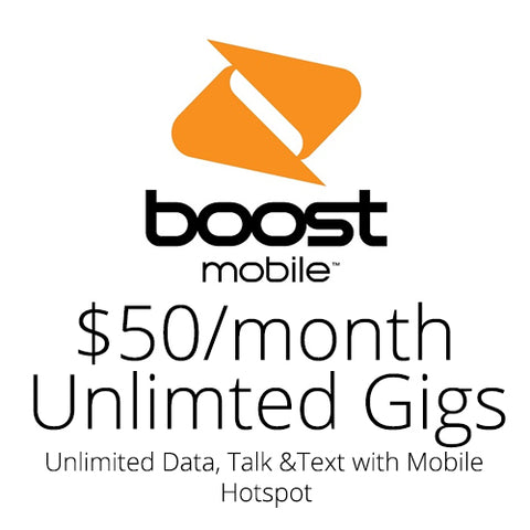 Boost Mobile $35 Month Auto Re-Boost Subscription
