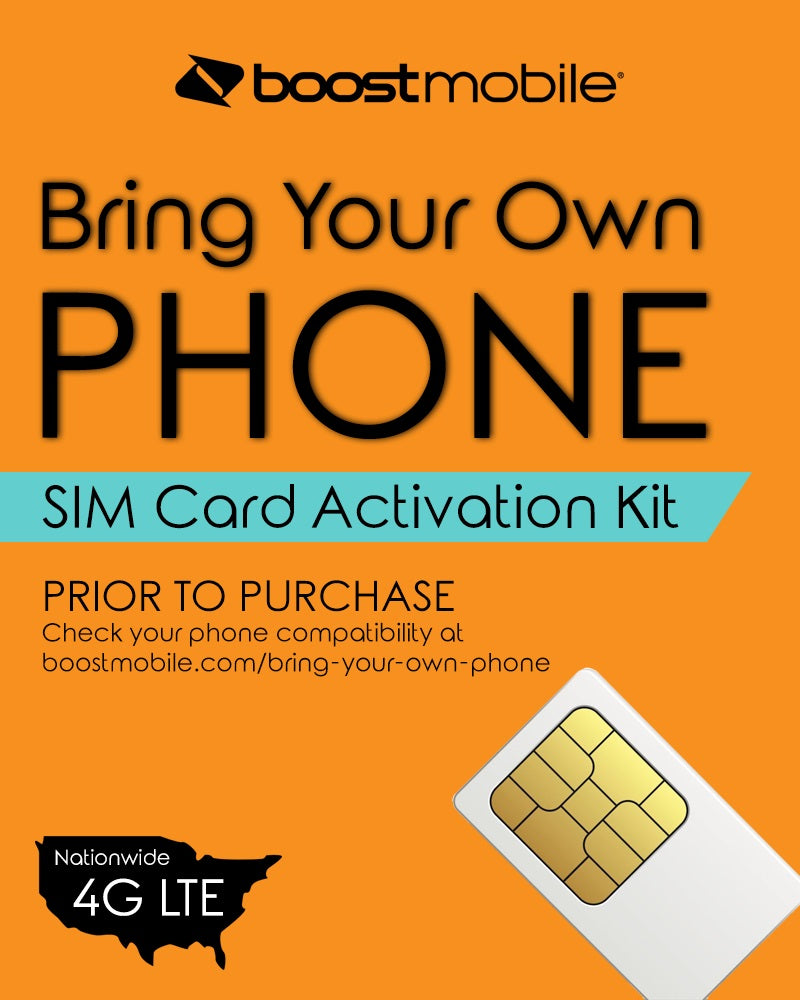 Boost Mobile Bring Your Phone Kit