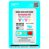 Net10 Universal Bring Your Own Phone Kit - shopcelldeals