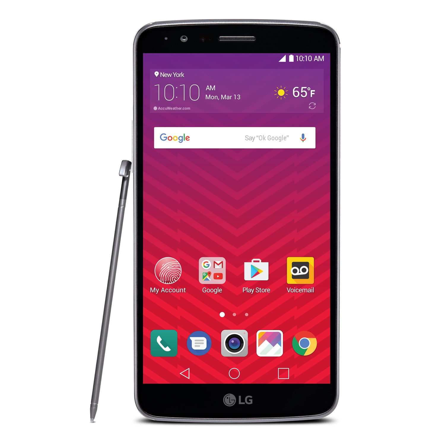 LG Stylo 3 LTE 57 Android Smartphone For Virgin Mobile