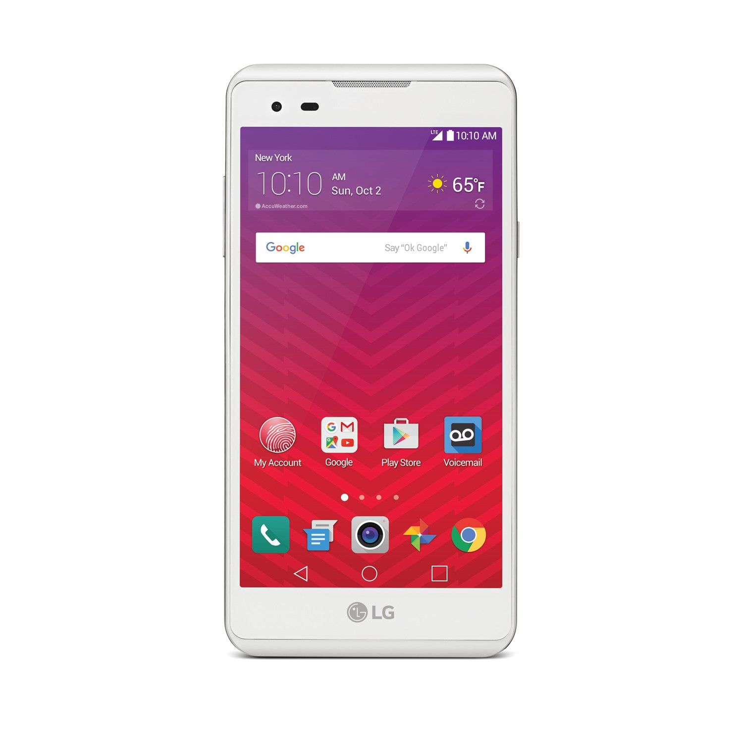 LG Tribute HD 16GB LTE Smartphone for Virgin Mobile - shopcelldeals - 1