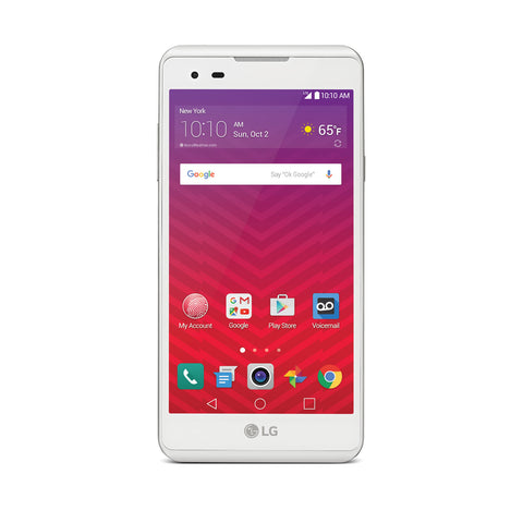 "LG  X Charge 5.5"" LTE Android Smartphone for Virgin Mobile"