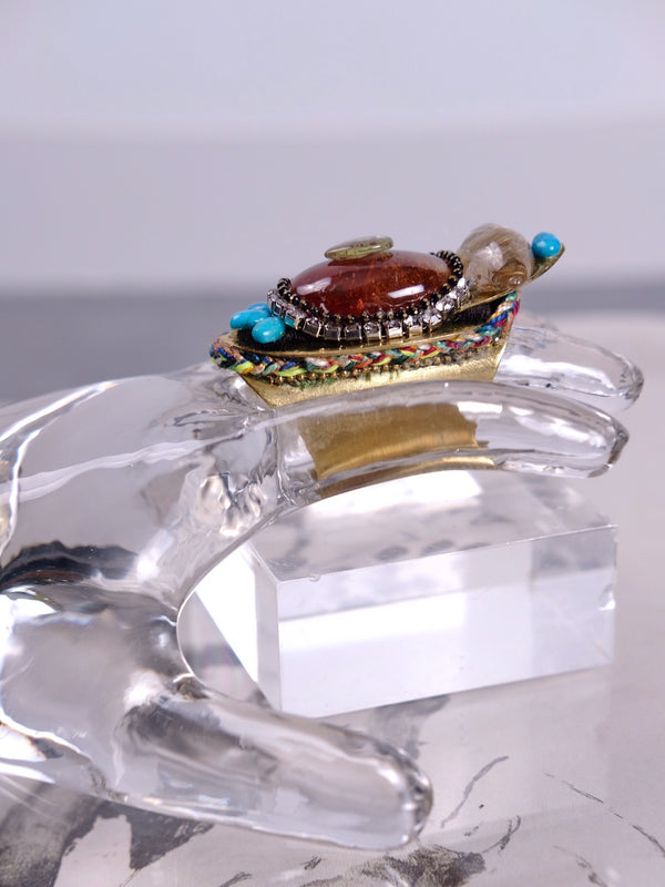 Carnelian Creativity Ring