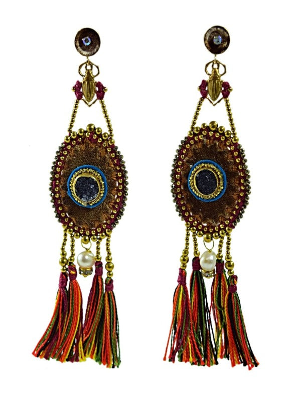 MERIDA VELVET EARRINGS