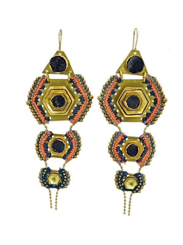 OAXACA SUN EARRINGS