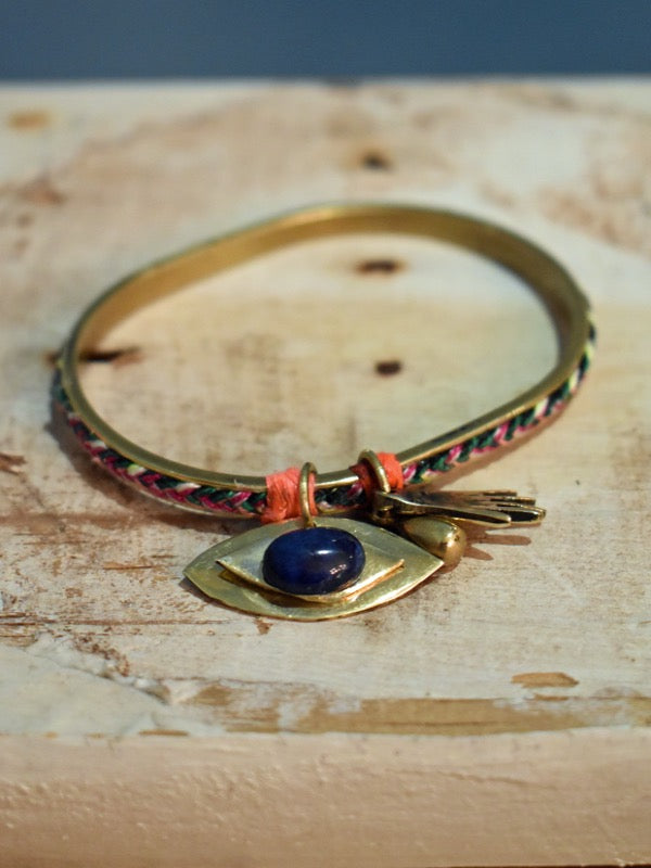 eye in the future bangle bracelet