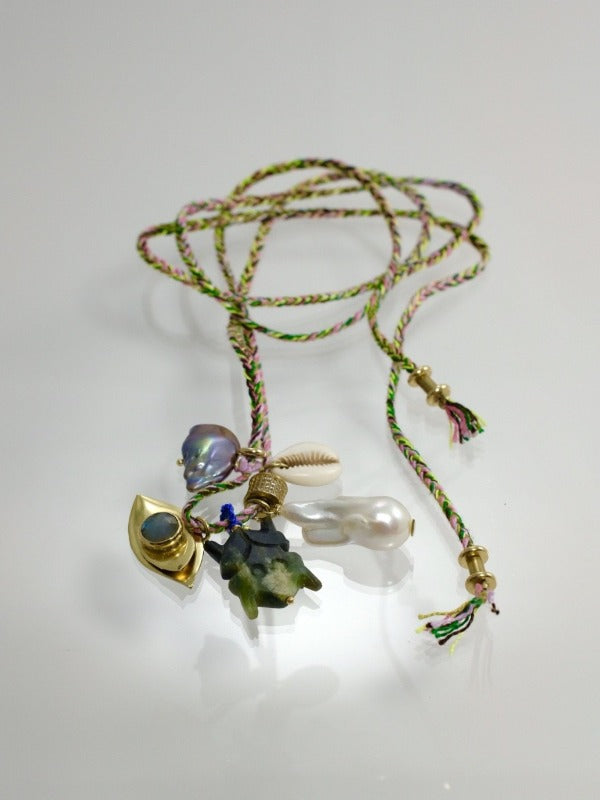 I would like  to be in Tulum chammam  necklace