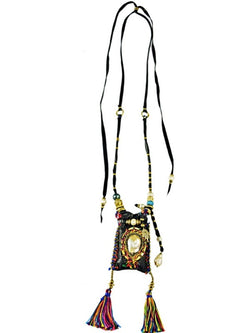 OAXACA LOVE POUCH NECKLACE