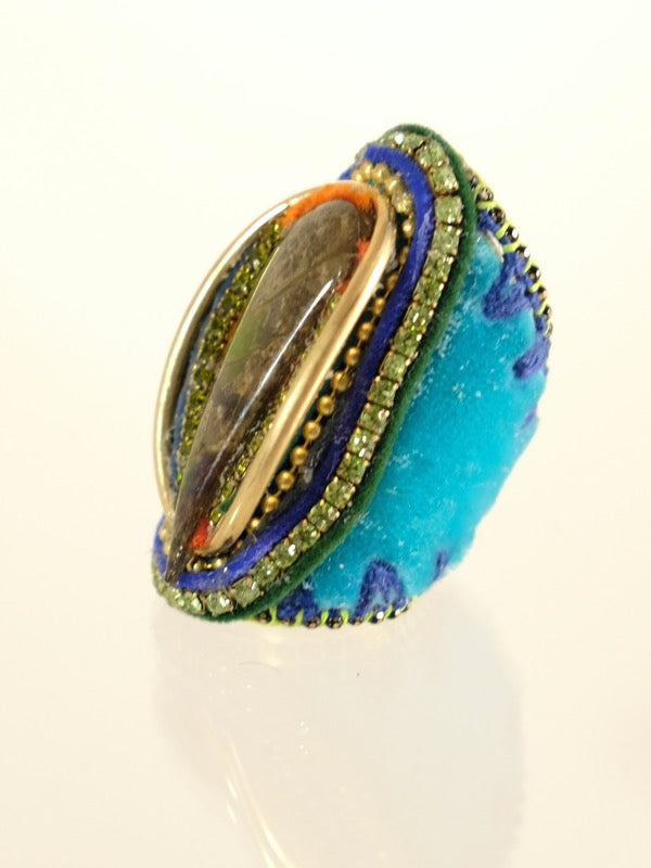 Blue Forest Ring