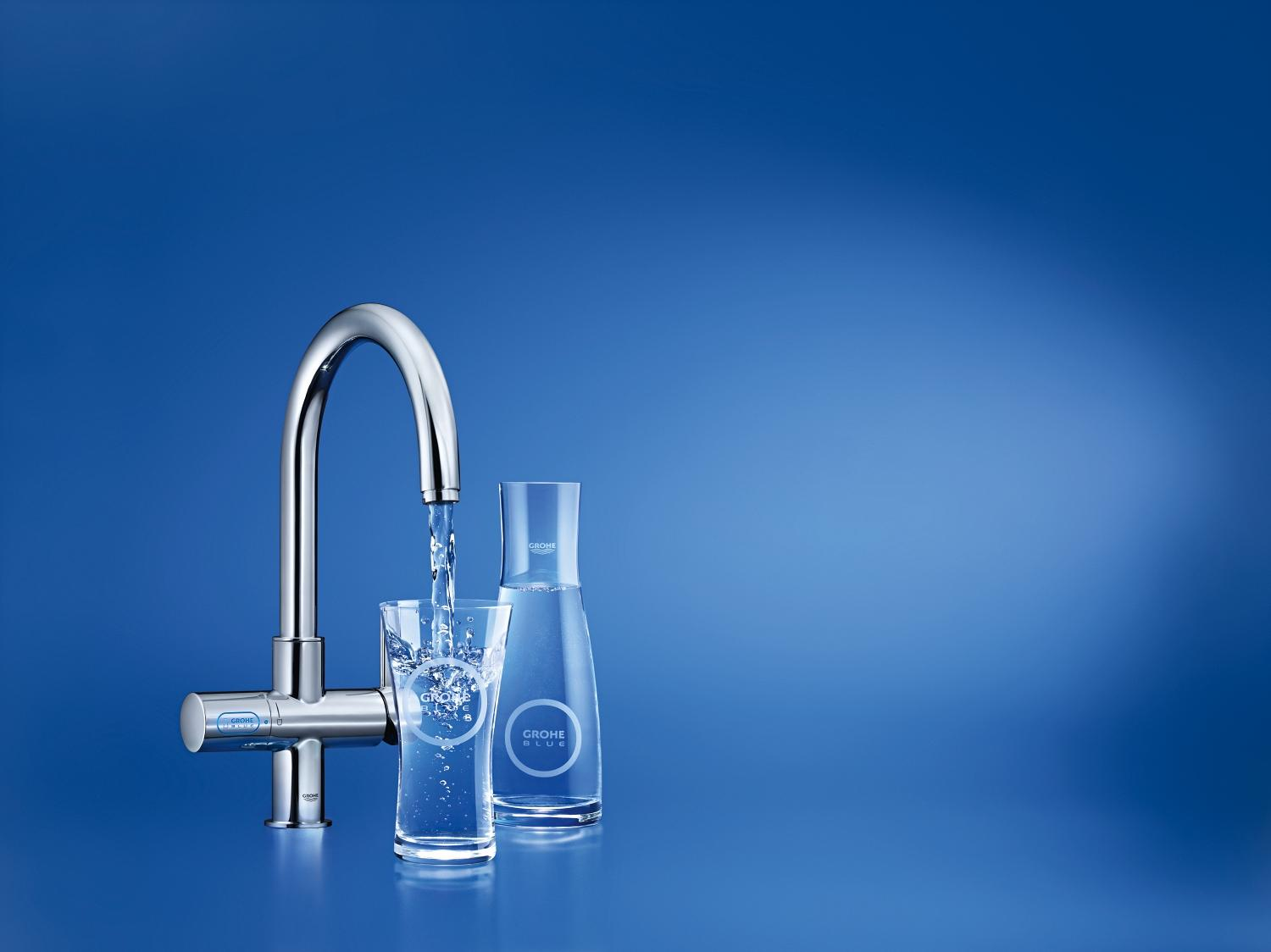 Grohe Blue Alternative grohe blue cool clean and carbonated plumbing canada