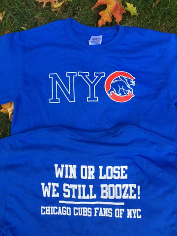 NYC Chicago Cubs T-Shirt