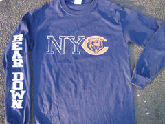 NYC Chicago Bears Long Sleeve - BEAR DOWN