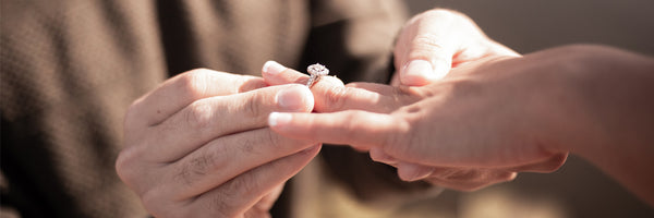 The magical proposal moment