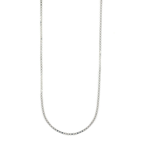 Sterling Silver Box Link Chain