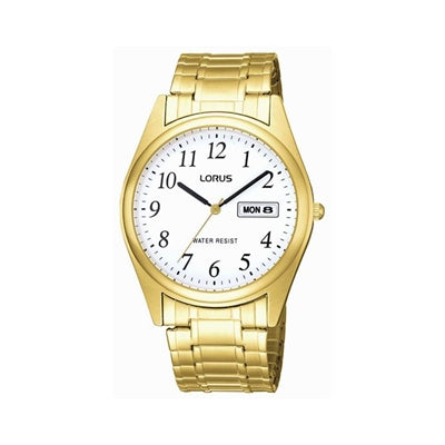Lorus Gold-Tone Flex Watch RXN08BX-9