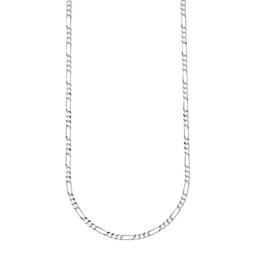 Sterling Silver Figaro Link Chain