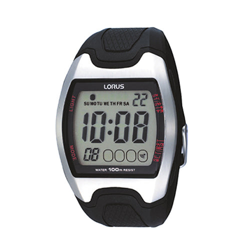 Lorus Rubber Strap Sports Watch R2327CX-9