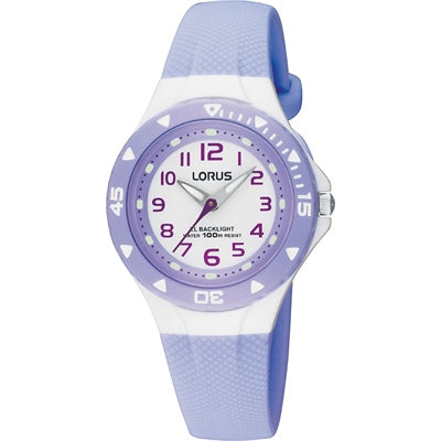 Lorus Children's Lavender Watch RRX51CX-9