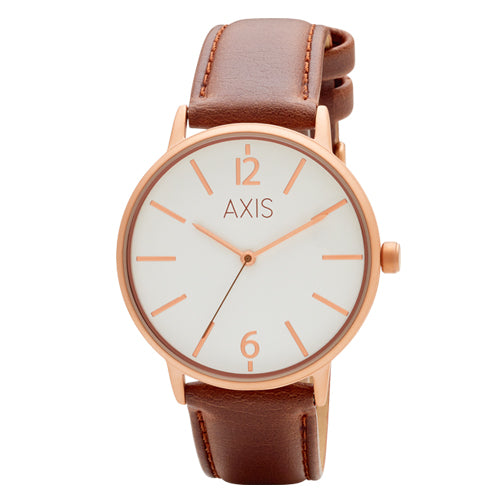 Axis Leather Strap Watch 138575