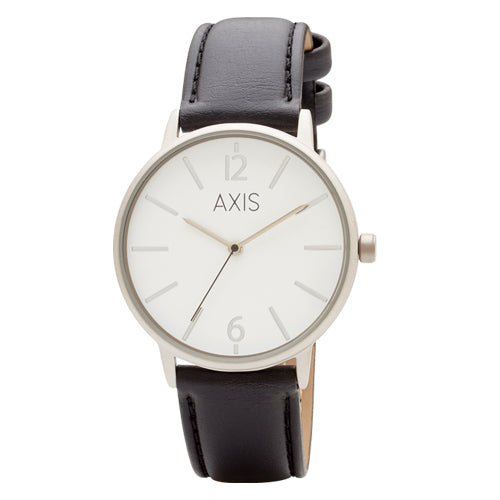 Axis Leather Strap Watch 138576