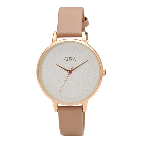 Aura Embossed Watch 142926