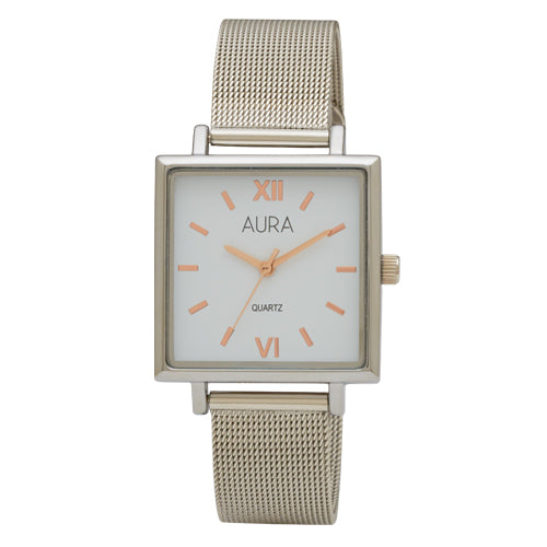 Aura Mesh Strap Watch 142980