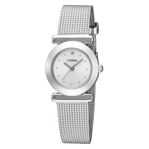 Lorus Stainless Steel Mesh Watch RRS53RX-9