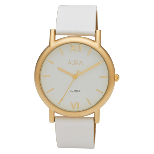 Aura White Watch 146684
