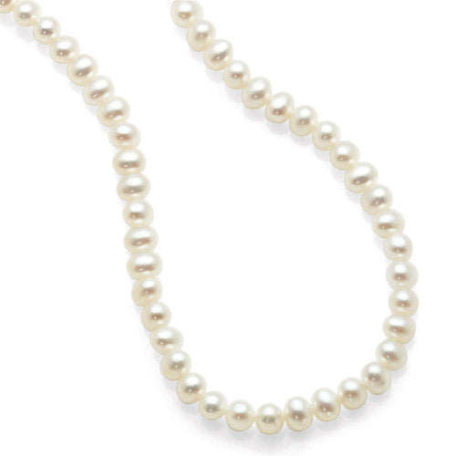 Sterling Silver Freshwater Pearl Strand