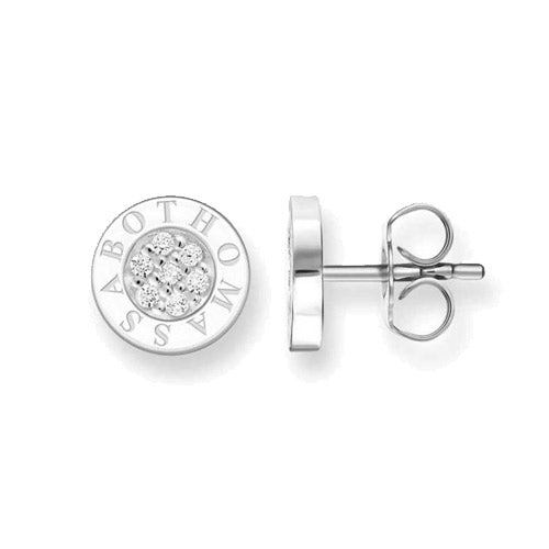 Thomas Sabo Sterling Silver Stud TH14547CZ