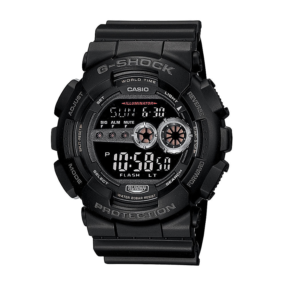 Casio G-Shock World Time Digital Watch GD100-1B
