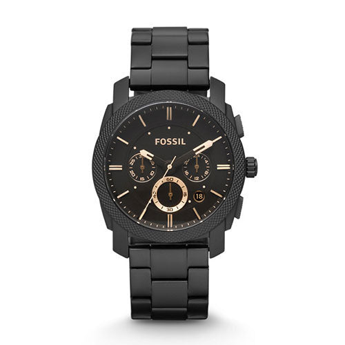 Machine Mid-Size Chronograph Black Stainless Steel