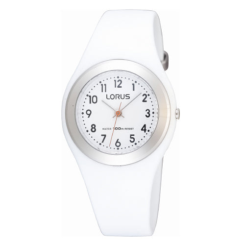 LORUS White Youth Sports Watch R2399FX-9