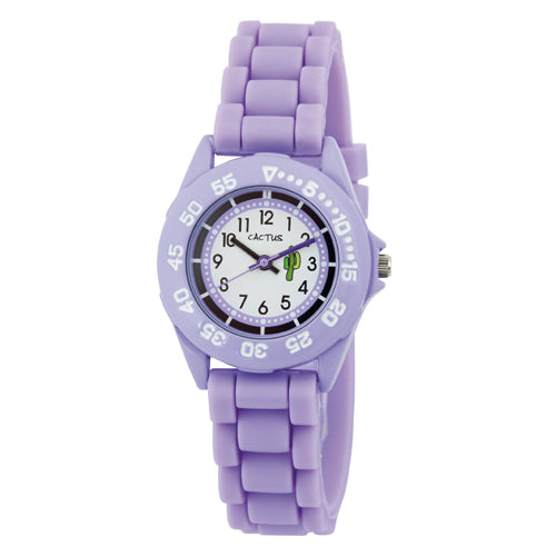 Cactus Rubber Strap Purple Watch CAC58M09