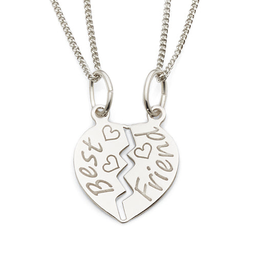 Sterling Silver Break Pendant