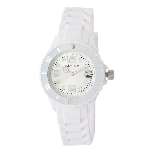 Cactus Youth White Watch CAC63M11
