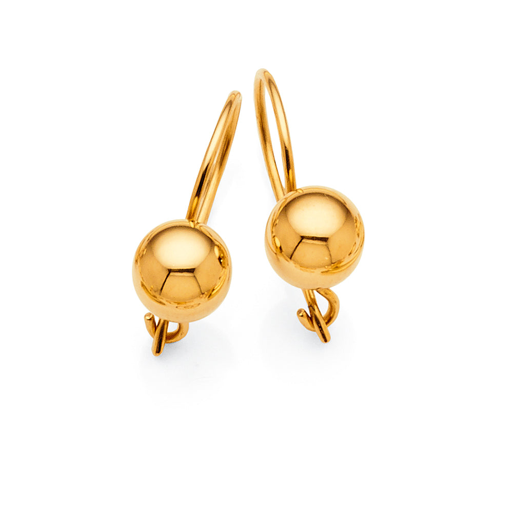 9ct Yellow Gold 7mm Euroballs