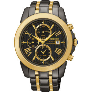 Seiko Solar Chronograph Watch SSC218P