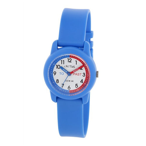Cactus Blue Rubber Strap Watch CAC69M03